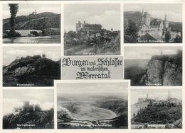 AK Burgen Und Schlösser Im Werratal Ab Bad Sooden 1940  [4088] - Bad Sooden-Allendorf