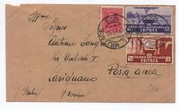 ERITREA - 1935 - ENVELOPPE Avec TàD POSTA MILITARE N°25 - Eritrea