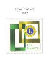 Brasile PO 1977 Lions  Scott.1499+ See Scan On Scott.Page+ - Brazil