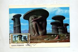Carte Maximum 1982 Tableau Balasa - Maximumkaarten