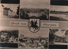 Wurzen - 6 Teilbilder - Ca. 1960 - Wurzen