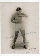 Boxe - Photo 18/23 - Cleto Locatelli - Paris 1931 - Boxing