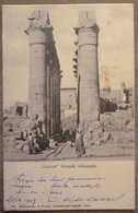 EGYPTE.LOUXOR.GRANDE COLONNADE.BEL AFFRANCHISSEMENT.CIRCULE 1903.TBE. - Luxor