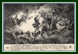 CPA Illustr. La Bataille Sous Verdun 1916  Guerre 1914 Non écrite TB - Verdun
