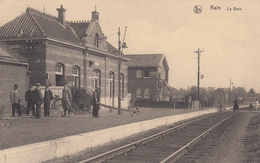 CPA -  Belgique, KAIN, La Gare - Tournai