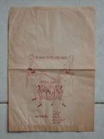 GRAND SAC PAPIER PUBLICITAIRE - SOUS VÊTEMENTS  ( FEMME ) REY - LINGERIE FEMININE - EXCELLENT ETAT / ANNEES 50 - 60 - Publicités