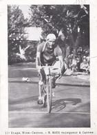 CYCLISME, Tour De France 1935, 11éme étape Nice-Cannes, R.Maes Vainqueur à Cannes - Riproduzioni