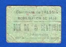 Tressin  59 /3239  Rare  R4 - Bons & Nécessité