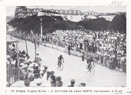 CYCLISME, Tour De France 1935, 10éme étape Digne-Nice, L'arrivée De Jean Aerts, Vainqueur à Nice - Riproduzioni