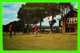 SPORT DE GOLF - SCENIC GOLF COURSE, FREDERICTON, NB - ANIMATED -  UNIC - - Golf
