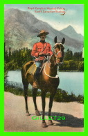 MÉTIERS - ROYAL CANADIAN MOUNTED POLICE IN BANFF, CANADIAN ROCKIES -  PUB. BY THE COAST PUB. CO - - Police - Gendarmerie