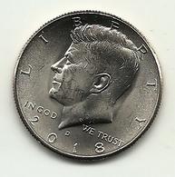 2018 - Stati Uniti 50 Cents - Kennedy, - Federal Issues