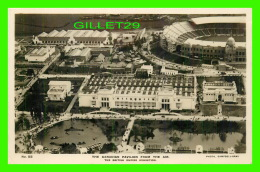 EXPOSITION THE CANADIAN PAVILION FROM THE AIR - THE BRITISH EMPIRE EXHIBITION - PHOTO, CAMPBELL--GRAY - TRAVEL IN 1924 - - Expositions