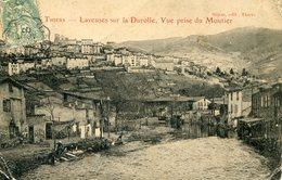 THIERS Laveuses Sur La Durolle 1907 - Thiers