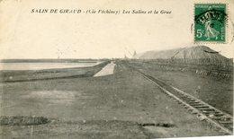 SALIN DE GIRAUD Péchiney Les Salins Et Grue - France