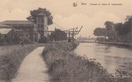 CPA -  Belgique, KAIN, L'Escaut Et L'Usine M. Carbonnelle - Tournai