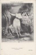 Arts - Histoire XIXème Siècle - Estampe Deveria - Femme - Bain Innocence - Editeur ND N° 586 - Schöne Künste