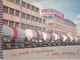 VINS DU POSTILLON, Livret De Présentation Des Vins Du Postillon, 38 Pages Bien Illustrées - Reclame