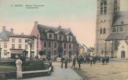 4 GHEEL - GEEL : Maison Communale - Gemeentehuis - Geel