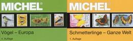 MlCHEL Kataloge Schmetterlinge+Vögel 2017 Briefmarken New 134€ WWF Fauna Stamp Bird/butterfly 2 Catalogue Of Topics - Originele Uitgaven