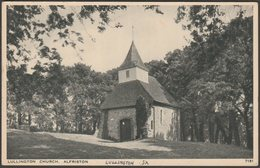 Lullington Church, Alfriston, Sussex, C.1940s - Salmon Postcard - England