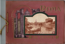 RICORDO DI ROMA - 80 Tavole - Livre Souvenir Sur Rome - - Libri, Riviste, Fumetti