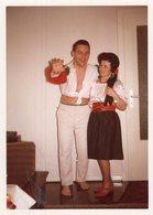 Original Photo Vintage Home Party - Persone Anonimi