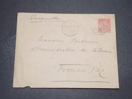 GABON - Entier Postal De N'Jolé Pour Fernan Vaz En 1906 - L 16561 - Gabon (1886-1936)