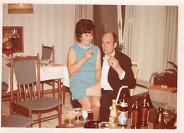 Original Photo Vintage Home Party - Personnes Anonymes