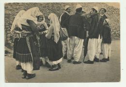 SCUTARI COSTUME DI ZADRIMA  VIAGGIATA FG - Albania
