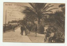 SAN REMO - LA PASSEGGIATA - VIAGGIATA 1907 FP - San Remo