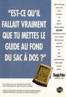 CPM - M - PUBLICITE POUR LE NOUVEL ORDINATEUR DE POCHE PALM - SIMPLY PALM - Werbepostkarten