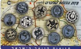 11977 - SCHEDA TELEFONICA - ISRAELE - USATA - Israele
