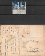 ALLIED OCCUPATION AMERICAN AND BRITISH ZONE AN 1948 MICHEL NR. 75 ID DENTEL 11 X 11,5 RARISIME - Zona Anglo-Américan