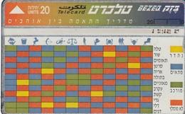 11980 - SCHEDA TELEFONICA - ISRAELE - USATA - Israele