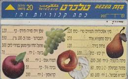 11981 - SCHEDA TELEFONICA - ISRAELE - USATA - Israele