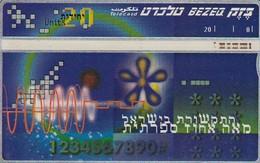 11983 - SCHEDA TELEFONICA - ISRAELE - USATA - Israel