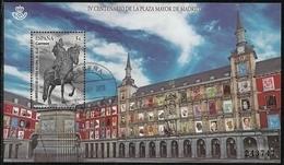 2018-ED. 5225 H.B. - IV Centenario De La Plaza Mayor De Madrid-USADO - 2011-... Gebraucht