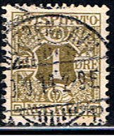 DI 623 // Y&T 1 (TIMBRE JOURNAUX) // 1907 - Service