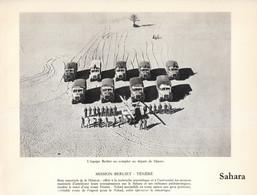 1961 - Héliogravure - La Mission Berliet AuTénéré - FRANCO DE PORT - Camions