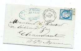 MARNE - Vitry-le Francois - Convoyeur Station - Marcophilie (Lettres)