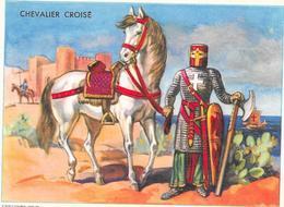 CHROMO BISCOTTES CLEMENT Collection - CHEVALIER CROISE - BARA - - Autres
