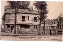1261 - Forêt De Sénart ( S.et O. ) - Lotissement Du Parc De La Pyramide - Brunoy - Bureau Des Ventes - Oxenaar Photo - - Brunoy