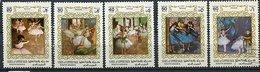 Upper Yafa *, Ob Ref. Michel N° 56 A à 60 A - Tableaux De Degas - - Verenigde Arabische Emiraten