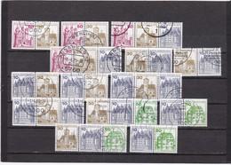 Berlin, ZD-Kombinationen W61-W74, Gest. (T 5280) - [5] Berlin