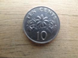 Singapour  10  Cents  1989   Km 51 - Singapur