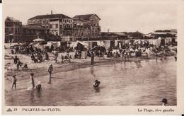 34 PALAVAS LES FLOTS -- La Plage , Rive Gauche Très Animée - Palavas Les Flots