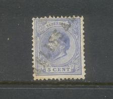 Nvph 19 Met Langstempel MELISSANT - 1852-1890 (Guillaume III)