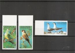 Polynésie - Oiseaux ( 168/170 Non Dentelés XXX -MNH) - Non Dentelés, épreuves & Variétés