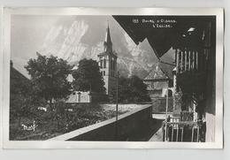 Isère 38 -  Bourg D'oisans L'église N 153 Ed Marf Carte Photo - Bourg-d'Oisans
